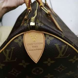 Lv speedy 30 authentic New