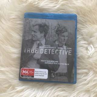 True detective series on blueray