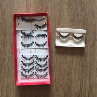 Cheap Eyelashes all For $2.00
