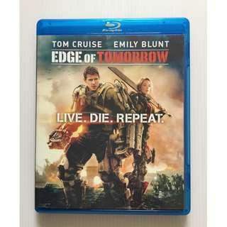 Edge of Tomorrow Blu Ray