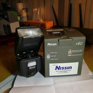 Nissin i40 for Fuji mount