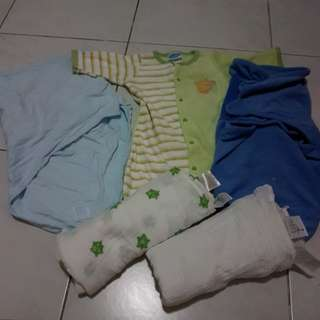 *BUNDLE* Baby Boy Swaddles/Sleepsacks