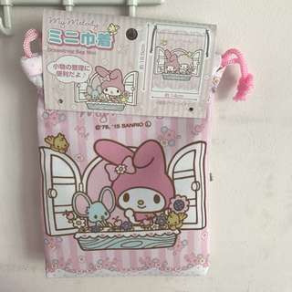 Last PCS Left My Melody Drawstring Pouch