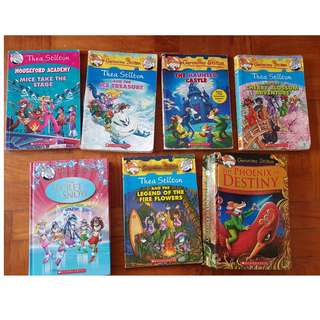 Geronimo /Thea Stilton books kids