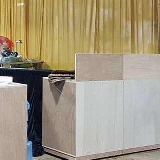 Raw Display Cabinet