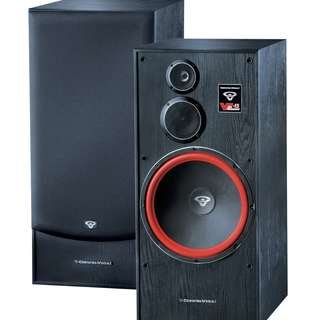 Cerwin-Vega Huge 15″ 3 Way Floorstanding Tower Speaker  (UP $1750) WAREHOUSE PRICE $899 a pair!!! Free Delivery