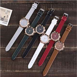 Jam Tangan Vansvar Brand Fashion Star Dial Women Watches