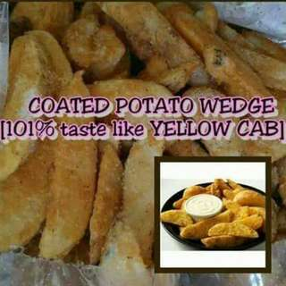 COATED POTATO WEDGES 1KL.PER PACK