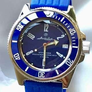Vostok Amphibia Automatic 200M Diver Watch