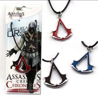 Assassins Creed Neon Series Ubi Pendant Necklace Merchandise