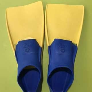 Kid's Sun Paradise Soles Flippers (Training Fins)