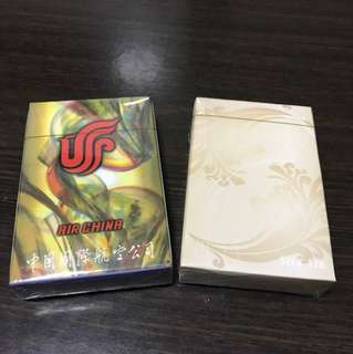 Brand New SILKAIR / AIR CHINA Airlines limited edition Poker Playing Cards