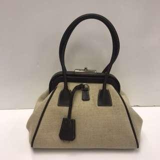 Prada Vintage Canvas Handbag