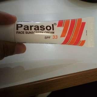 Parasol sunscreen 33 spf