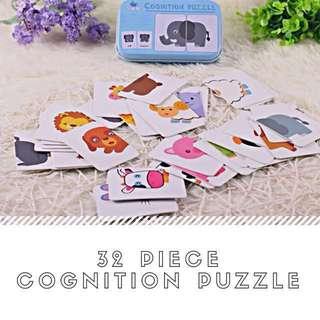 🍼 LittleNation - 32-piece Cognitive Puzzle