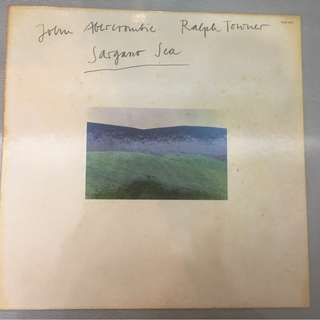 John Abercrombie, Ralph Towner ‎– Sargasso Sea, Vinyl LP,  ECM Records ‎– ECM 1080, 1976, Germany
