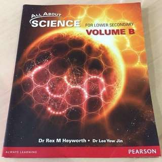 All About Science for Lower Secondary Volume B