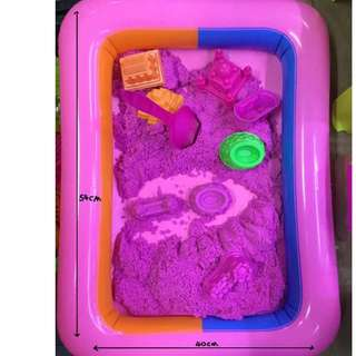 Kinetic Sand or Clay Sand