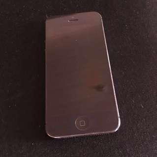 iPhone 5 second hand 16gb (read description)