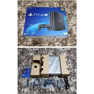 只有這台-全新PS4 PRO 1TB 台灣原廠公司貨-免運費