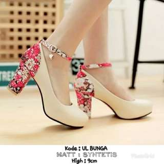 Sepatu Heels Wanita UL BUNGA