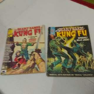 Marvel kung fu comic
