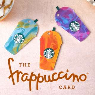 🆕Starbucks® 🇲🇾 2017 Frappucino® Trio Cold Cup Card