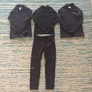 Thermal base layer for boys