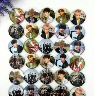 BTS/TWICE/GOT7/BLACKPINK/EXO BADGES