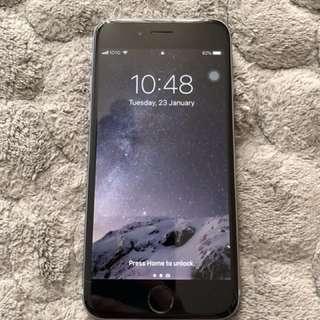iPhone 6 64gb Space Grey 香港行貨 連原裝盒