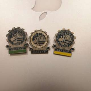 金昇工艺中学kim Seng technical school badge