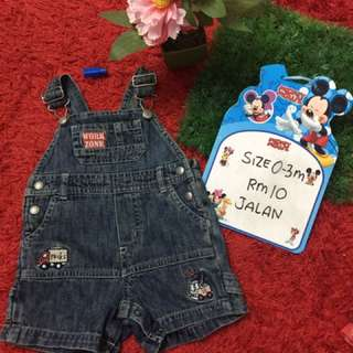 Baby Overall size 0-3month