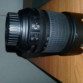 nikkor 18to105mm lens