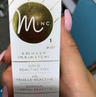 Mini gold foil