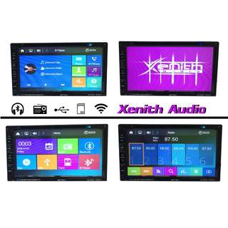 2-Din Player Car DVD USB MP4 MP3 TV Bluetooth