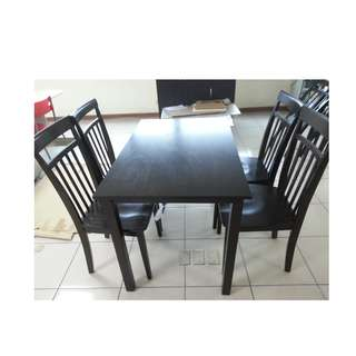 TAILEE DS-300 4 SEATER DINING SET