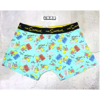 「the Simpsons 辛普森一家 辛普森家族 內褲 四角褲 @公雞漢堡」