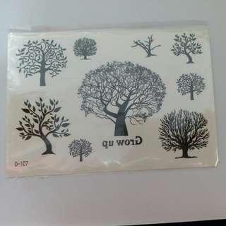 滴膠 DIY 手工 手機殼貼紙 樹幹 樹枝 樹葉 樹 DIY材料包 水晶滴膠 干花 UV滴膠