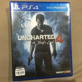 Kaset PS4 uncharted4