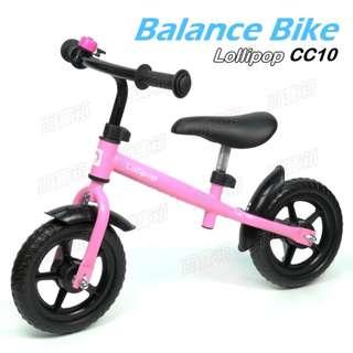 (百寶箱 CC10) 10吋車輪 兒童 平衡車 Balance Bike 無腳踏 單車 滑行車 Push Bike 兒童單車