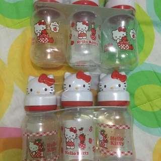 Hello Kitty Feeding Bottles Take All 9oz