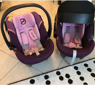 Car seat : Cybex Aton 4 : buy one or two