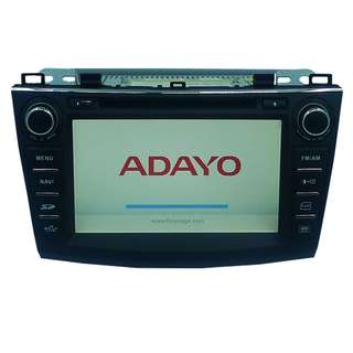 Adayo MAZDA 3 2011 Touch Screen DVD RADIO PLAYER