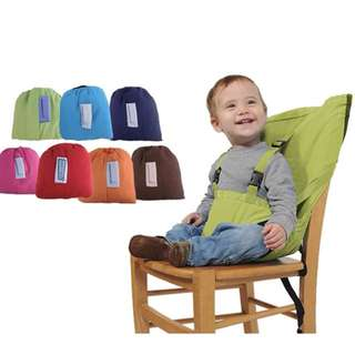 Sack N Seat portable high chair