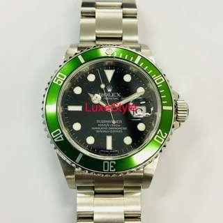 Rolex Submarnier (Kermit)