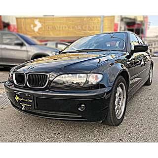 桃園出售 04年式 BMW E46 318I  實車實價 里程車況保證 經典不敗車款 一手原廠保養 速洽