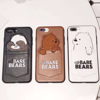 We Bare Bears iPhone Case for 6/6s/7/7 plus/8/8 plus/X