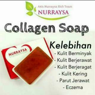 Collagen Soap hijab muslimah