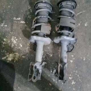 Honda stream rear suspension