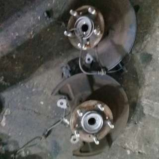 Honda stream knucle with bearing